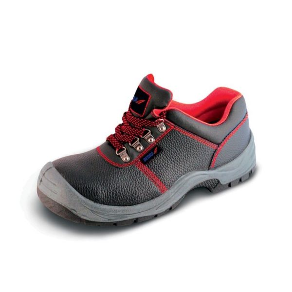Dedra Munkavédelmi cipő P1A, bőr, méret: 46, S1P SRC kat. BH9P1A-46