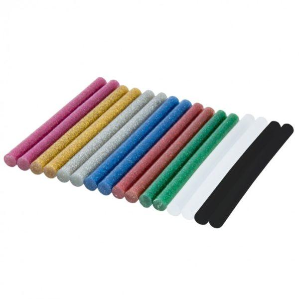 Dedra Ragasztópatron, színkeverék, 8x100mm, 12db DED7579