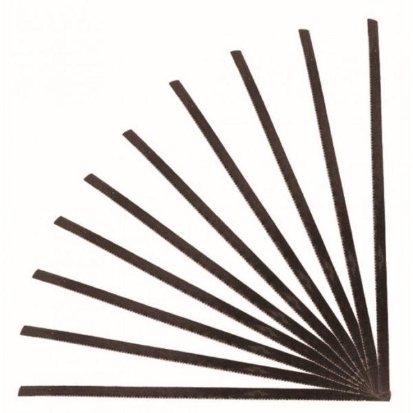 Dedra Tartalék fűrészlapok fához 125mm, 10db, 1222-höz 1202
