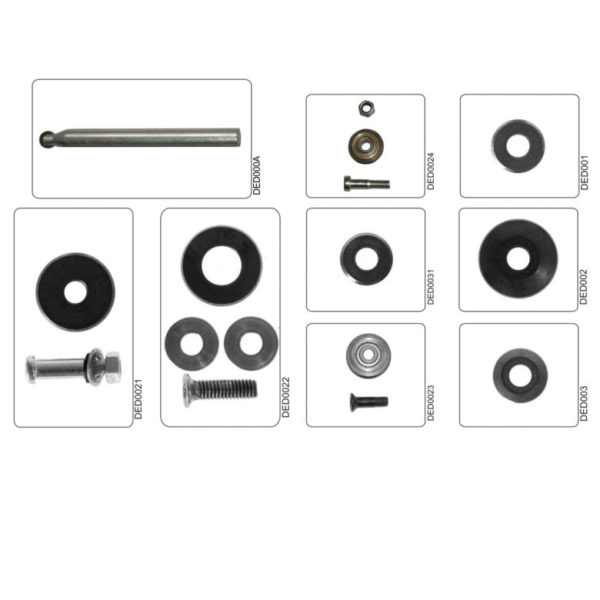 Dedra Cserélhető karbid vágókerekek 22/2mm, csavar, tengely, 1151 és 1152 DED0022