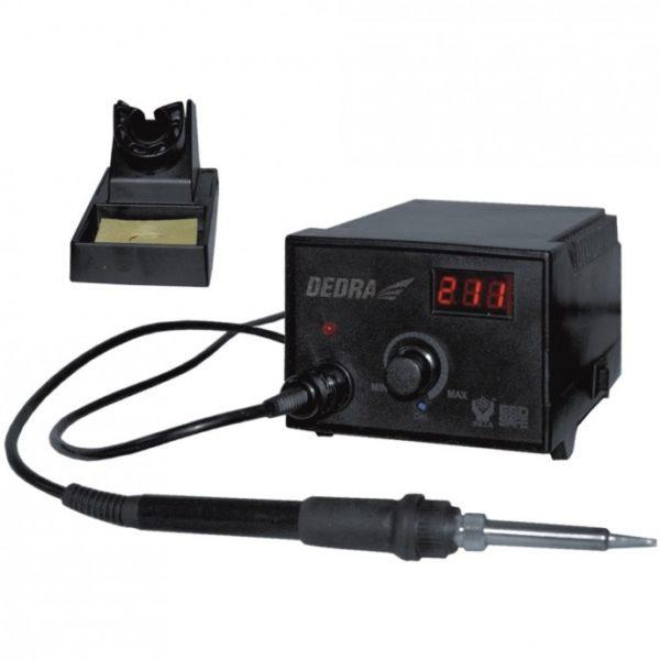 Dedra Digitális forrasztó állomás folytonos hőmérséklet szabályzóval, 60W DED7541