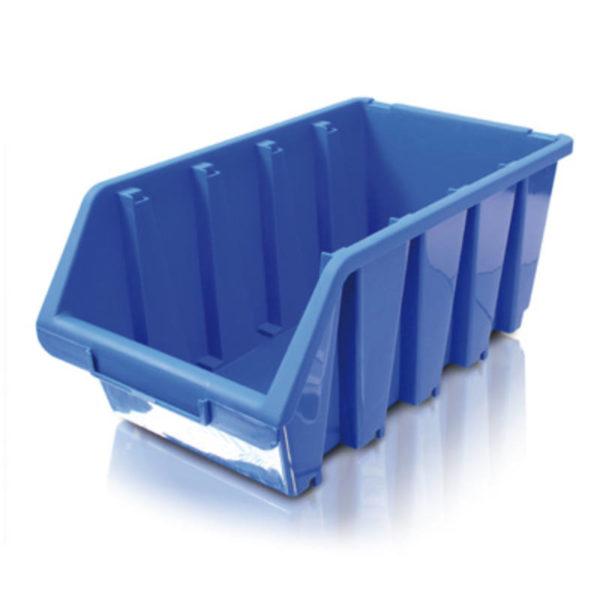 Erba tárolódoboz alkatrésztároló csavaratároló tároló doboz nagy 02254