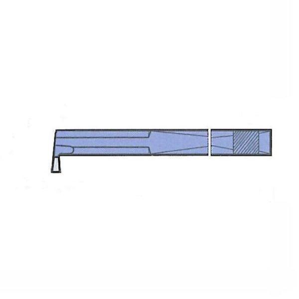 Erba Belső Mélyítő Esztergakés 10×10 mm