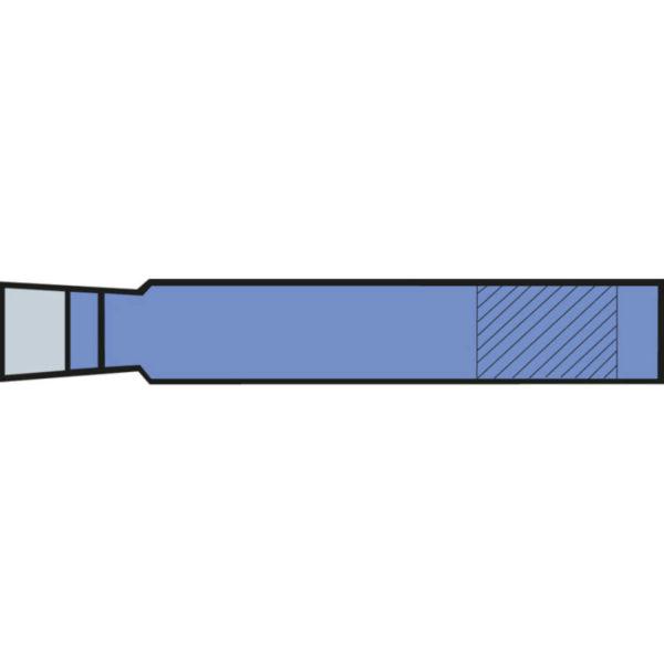 Erba Esztergakés, Jobbos Oldalélű 8×8 mm 09163