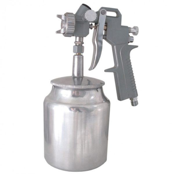 Dedra Festékszóró pisztoly, alultöltős, PVC tartály A533070