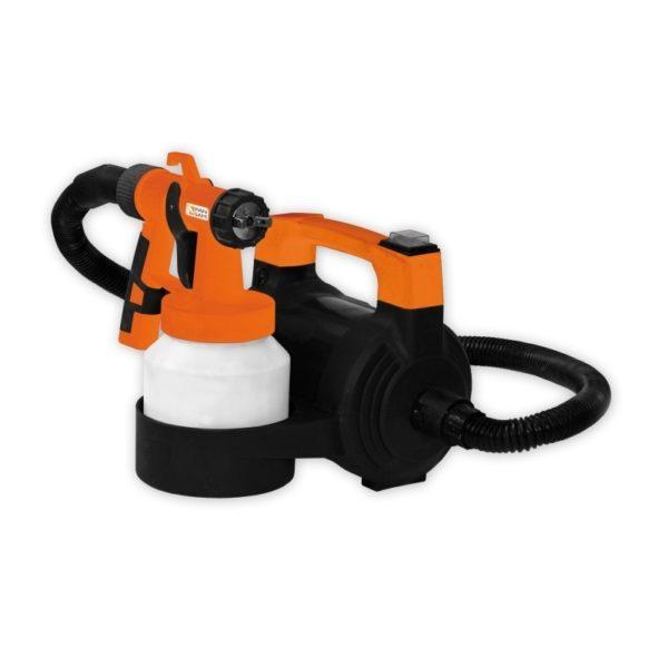 Dedra Elektromos festék szóró berendezés, HVLP 650W, fúvókával, 2,5m tömlő A730200