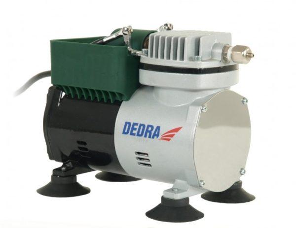 Dedra Airbrush festőkészlet mini kompresszorral, 0,125kW. DED7470