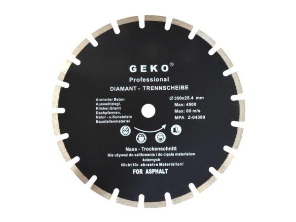 Geko Aszfaltvágó tárcsa 350 mm G00279