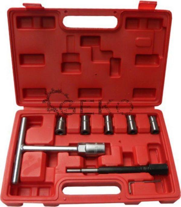 Geko Diesel injektor foglalat szerszámkészlet G02657