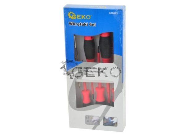 Geko Villanyszerelő csavarhúzó készlet G30623