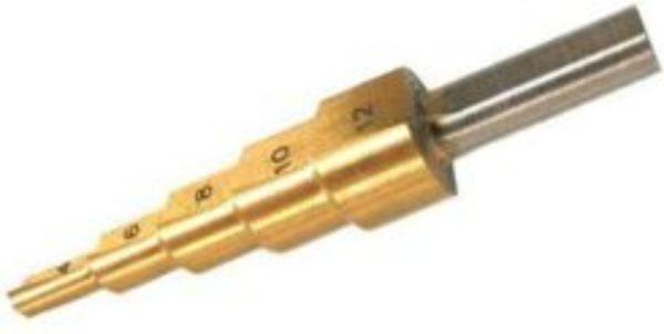Geko Lépcsős lemezfúró 4-12 mm G38504