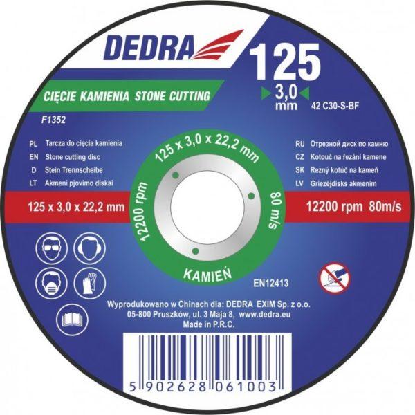 Dedra 230×3,2×22,2 kőre F1355