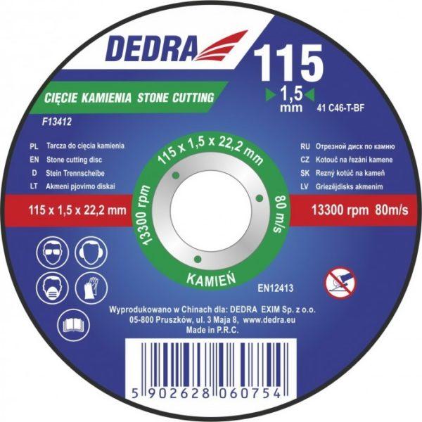 Dedra 115×3,0x22,2 kőre F13413