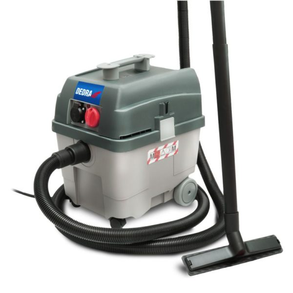 Dedra Ipari porszívó automatikus tisztítószűrővel 1,4kW, 27L DED6604