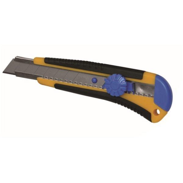 Dedra Kés 18mm + 1cserélhető él gumi fogantyú kattanózár M9016