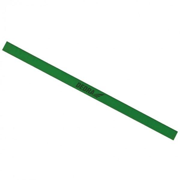 Dedra Asztalos ceruza H4 245mm, zöldszínű M9002