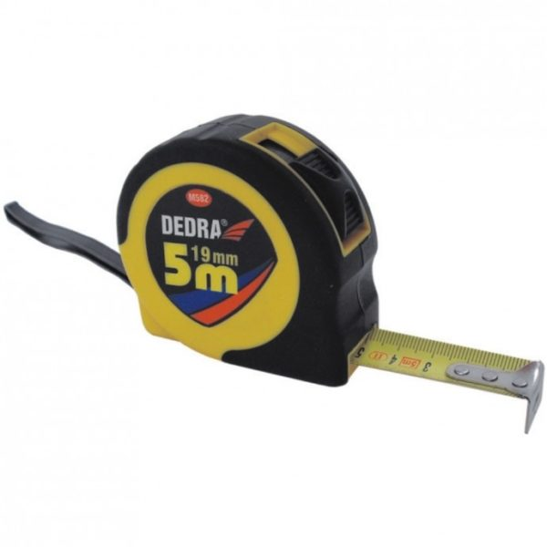 Dedra 5m/10mm, gumis, stop gomb M582