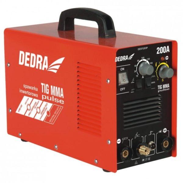 Dedra MMA invertoros hegesztőgép/ TIG PULSE 200A DESTi203P