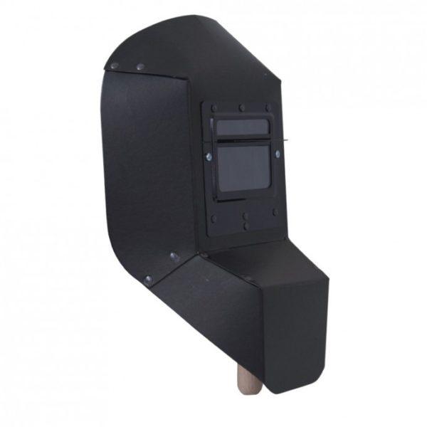 Dedra Kézben tartható hegesztőpajzs 235×385,uvegméret 50×100- lengyel gyártmány DES01 DES013