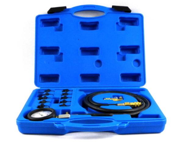 Geko Olajnyomásmérő készlet 0-10 bar G02507