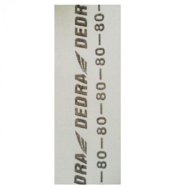 Dedra Professzionális gipszcsiszoló háló FEHÉR 105×280 P220 1541-220