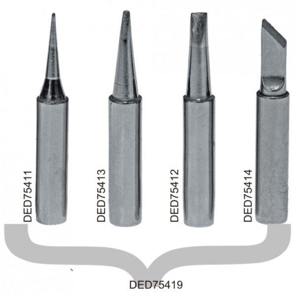 Dedra Réz forrasztópálca 3,2mm DED7541 és DED7542-es gépekhez, 2db DED75412