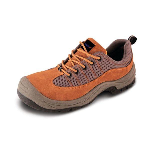 Dedra Munkavédelmi cipő P3, szarvasbőr, méret: 47, S1 SRC kat. BH9P3-47