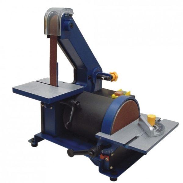 Dedra Tárcsás-szalagcsiszoló gép, cserélhető csiszolószalaggal, 300W,csiszolótárcsa 127m DED7809