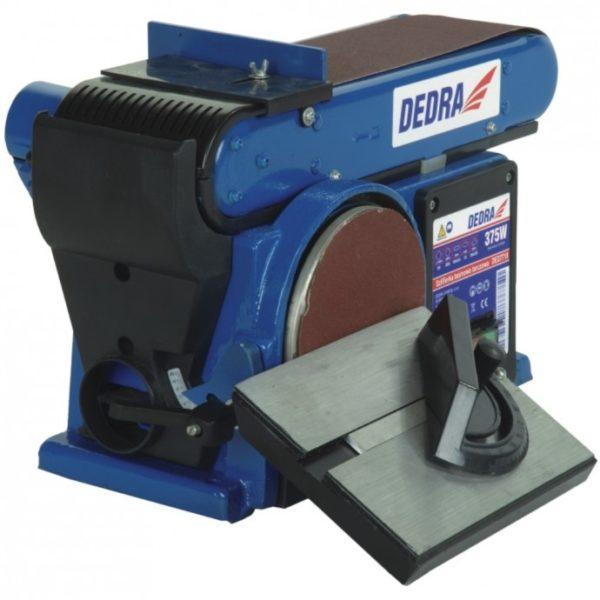 Dedra Tárcsás-szalagcsiszoló gép,cserélhető csiszolószalaggal, 500W, csiszolótárcsa 127m DED7718