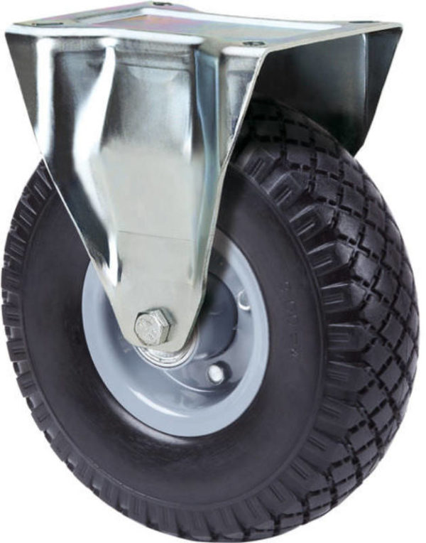 Fix tömlős kerék 300kg teherbírású kiskocsihoz (210mm) E03118-01