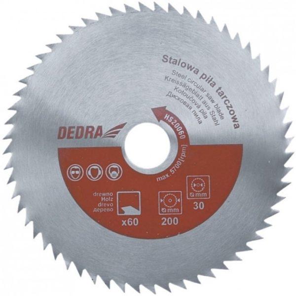 Dedra Univerzális acél körfűrészlap 250x60x30 HS25060