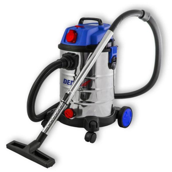 Dedra Vízszűrős porszívó 1400W, HEPA filter, 30l tartály, 1,5m tömlő, 4,5 tápkábel, tart DED6601