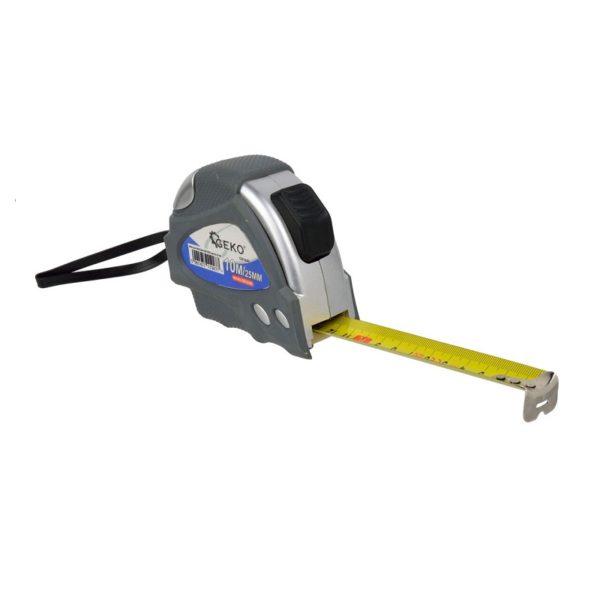 Geko mérőszalag mérő szalag automata blokkolással 10 m x 25 mm G01440
