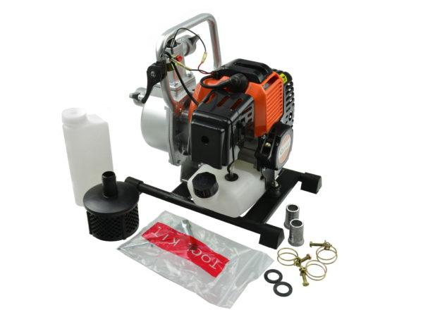 """Benzinmotoros vízszivattyú benzines szivattyú 7800 l / óra 1"""" V60100"""