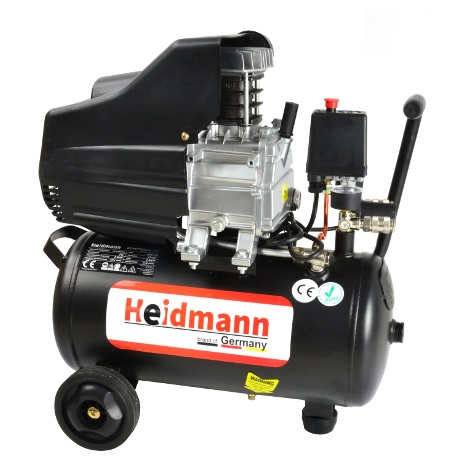 Heidmann olajos kompresszor 24 l 8 Bar H00720