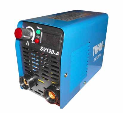 Tuson inverteres hegesztő hegesztőinverter inverter MMA 120 A SV120-A