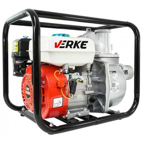 """Verke benzinmotoros szivattyú benzines szivattyú vízszivattyú 800l/perc 3"""" 6.5 Le V60104"""