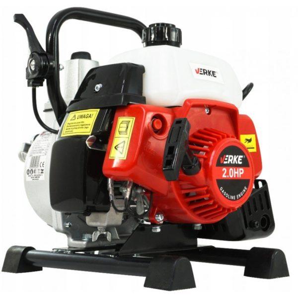 """Verke benzinmotoros szivattyú benzines szivattyú vízszivattyú 7800 l/óra 2LE 1"""" V60100"""