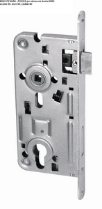 Bejárati ajtózár 90/50, lyuk távolság 90, mélység 50, zártest… GERAPZ90-50