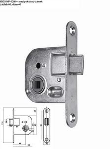 Bevésőzár beltéri ajtókhoz, mélység 40, zártest szélesség 60 -… GERAMP60-40P