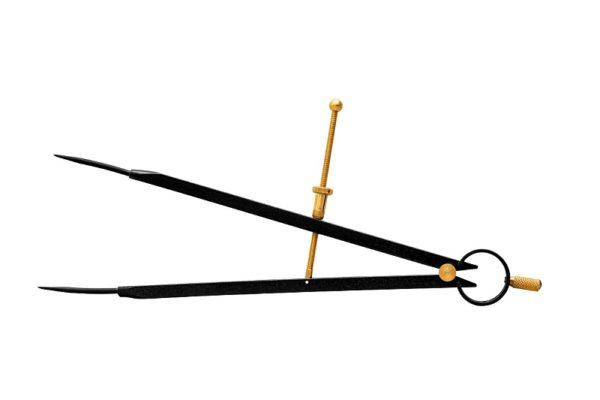KINEX – rugós körző 10-350 mm 2070-02-250