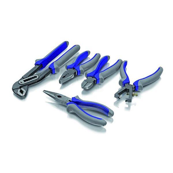 Erba fogókészlet fogó készlet 5 db-os 160 – 260 mm 22007