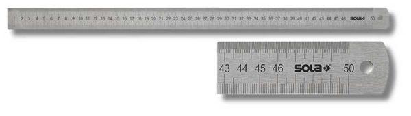 SOLA – LSB 500 – Acélvonalzó 500mm 56104401