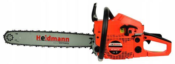 Heidmann benzines láncfűrész benzinmotoros láncfűrész 55cm3 4.7LE 50cm H00631