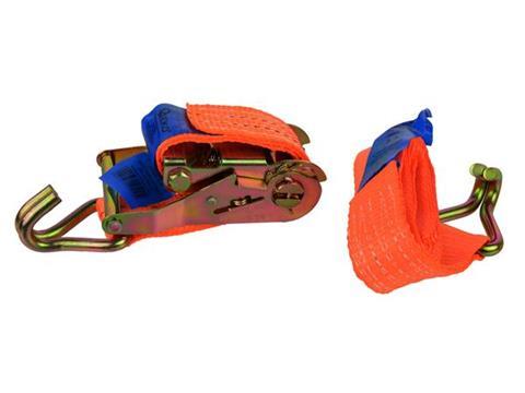 Geko rakományrögzítő spanifer 2m/2 Tonna 35mm racsnis kampós G02372