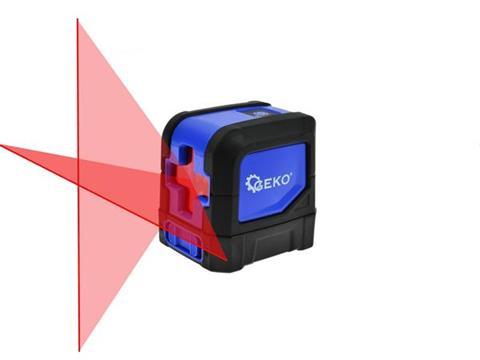 GEKO Keresztvonalas lézer, szintező lézer hatótáv 20m (vízszintes, függőleges) G0330 G03300