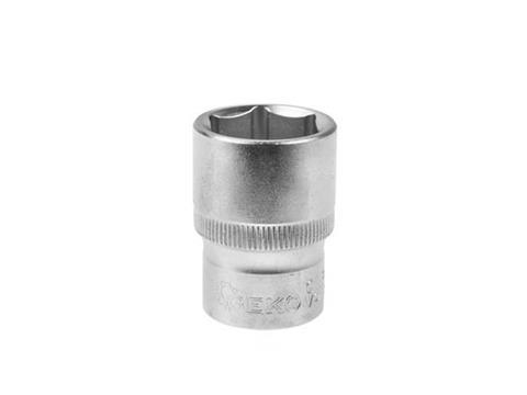 """GEKO Hatszög dugókulcs 1/2"""" CRV 17mm G12017"""