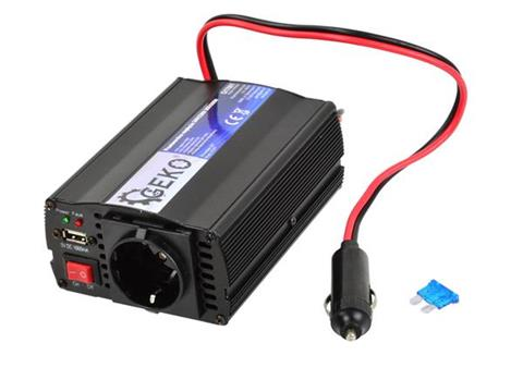 GEKO 24V inverter feszültségátalakító 230V 250W G17001
