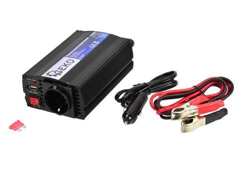 GEKO 12V inverter feszültségátalakító 230V 350W G17002