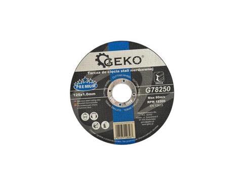 GEKO Rozsdamentes acél vágókorong 125mm 1.0mm PREMIUM G78250
